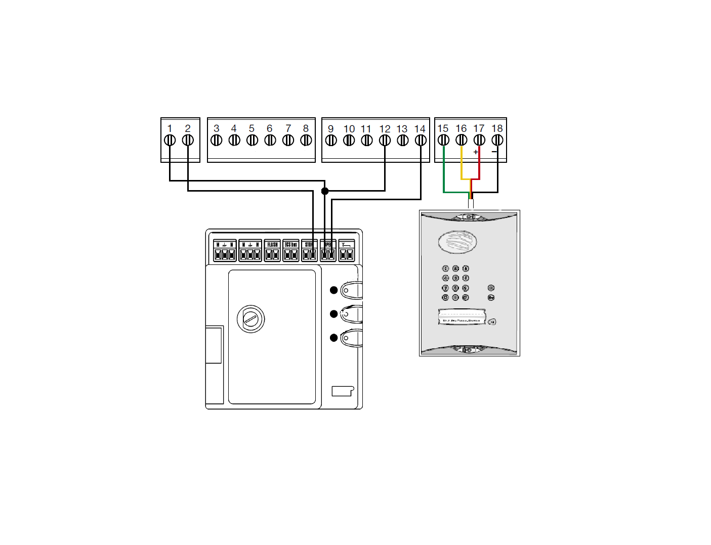 Daitem to Mhouse Simplified Wiring Diagram diagrams 10581298 videx wiring diagram videx wiring diagram all videx door entry systems wiring diagram at couponss.co