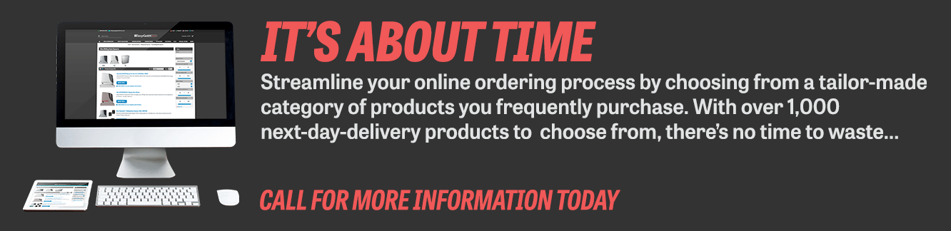 It's about time - Contact for info about tailor-made categories of frequently purchased items.